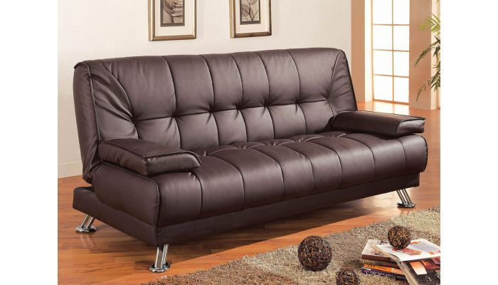 Jerico Modern Style Leather Sofa Bed