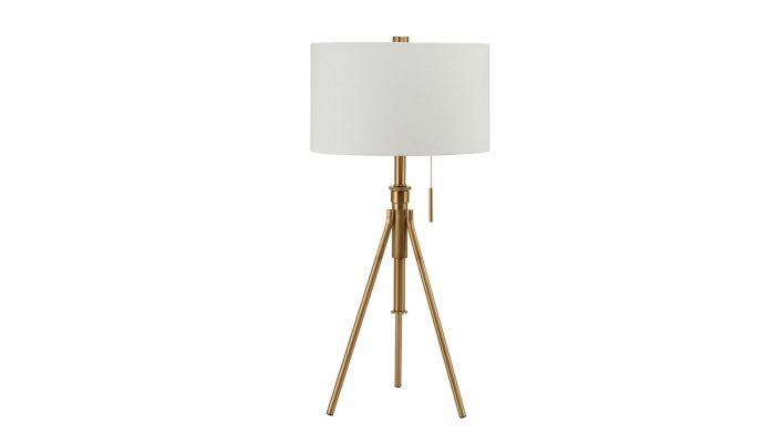 Jesy Gold Finish Table Lamp
