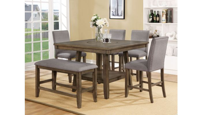 Jill Square Counter Height Table Set