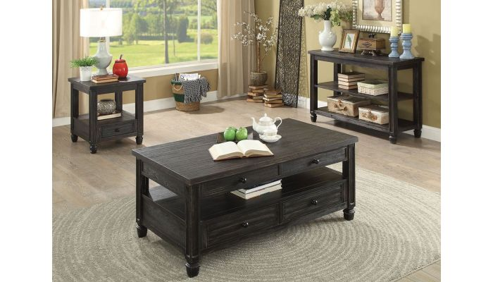Jofran Lift Top Coffee Table With Drawers