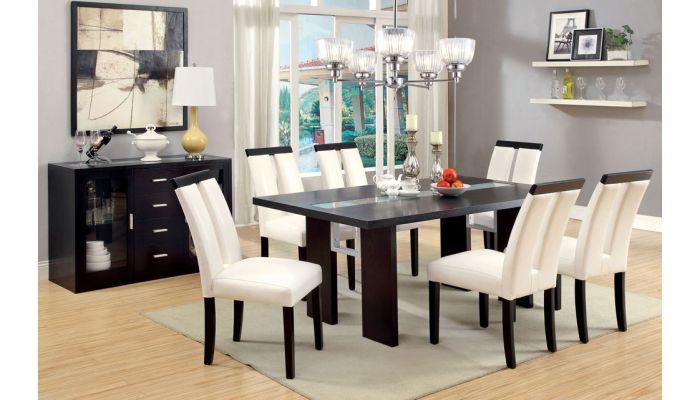 Kenneth Led Light Dining Table Set