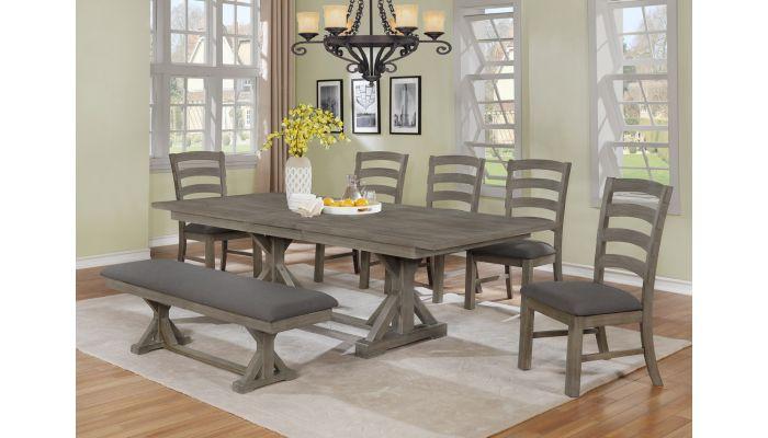 Kentucky Park Rustic Dining Table Set