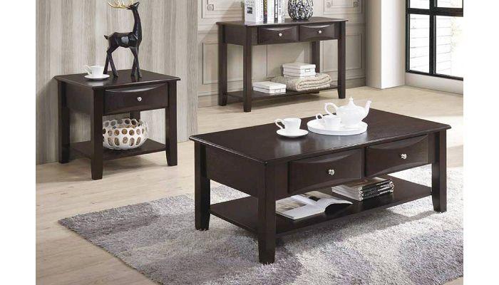 Kesha Coffee Table With Drawers