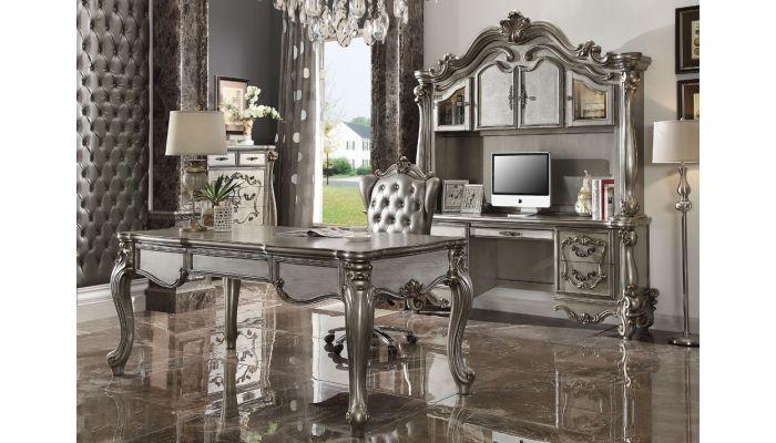 Kodie Platinum Finish Executive Home Office