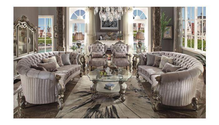 Kodie Platinum Living Room Furniture