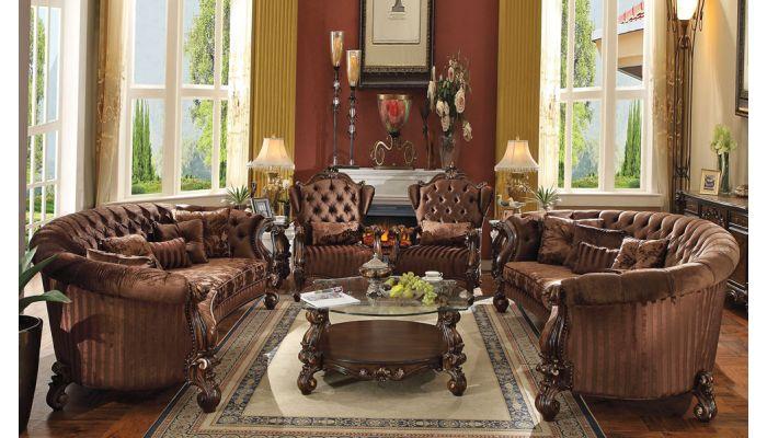 Kodie Traditional Style Oversized Sofa