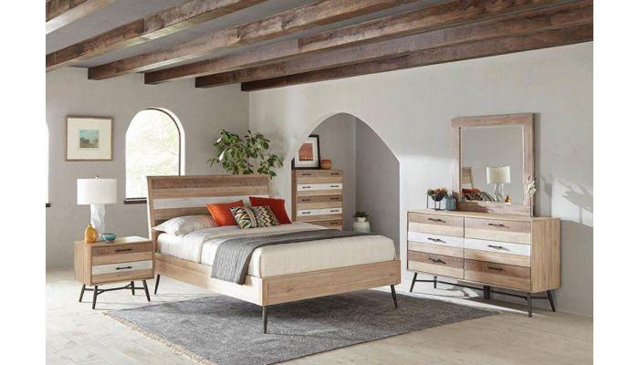 Kragen Wire Brushed Finish Bedroom Furniture