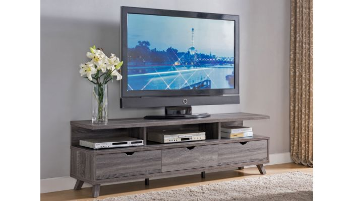 Lanie Rustic Finish Modern Tv Stand