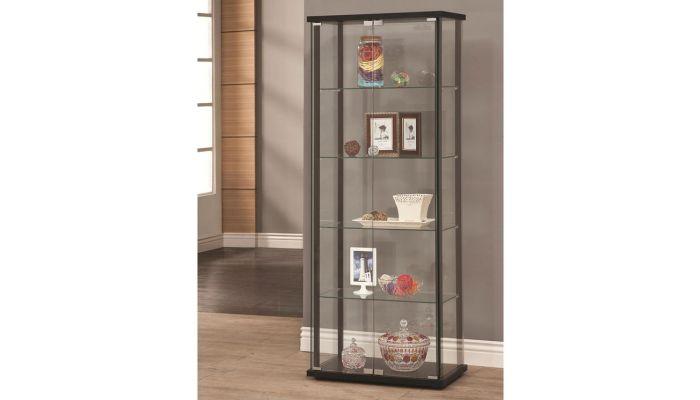 Laredo Glass Display Curio Cabinet
