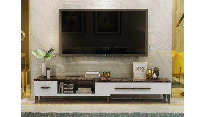 Lawford Modern Low Profile TV Stand