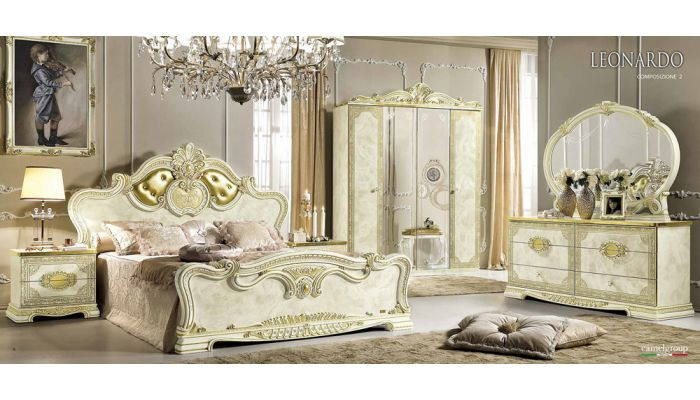 Leonardo Italian Classic Bedroom Collection