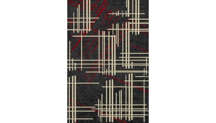 Lifestyle 802 Red Area Rug