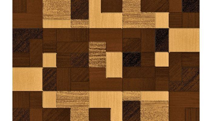 Lifestyle Brown Rectangular Rug 485