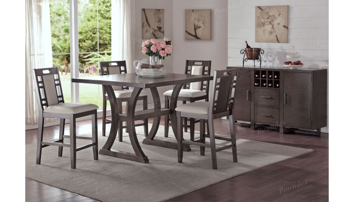Lindsay Counter Height Dining Table Set