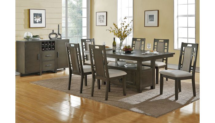 Lindsay Contemporary Dining Table Set