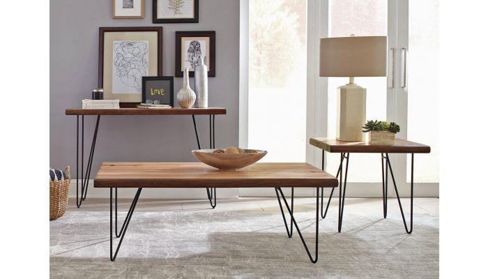 Lorri Rustic Modern Coffee Table