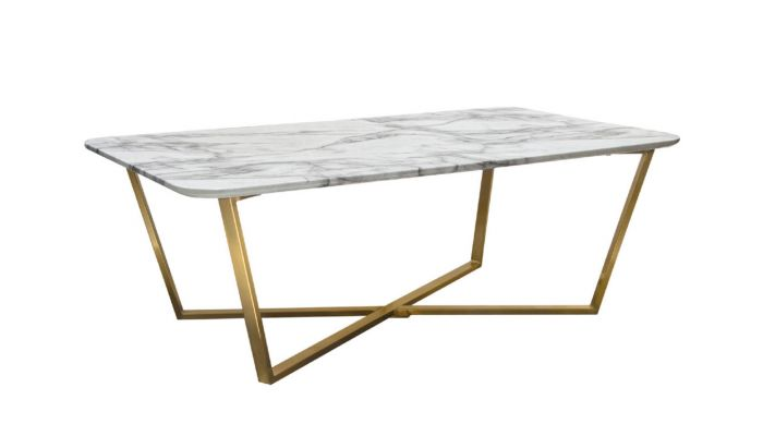 Lovus Faux Marble Coffee Table