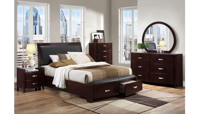 Lyric Platform Bed With Storage Drawers