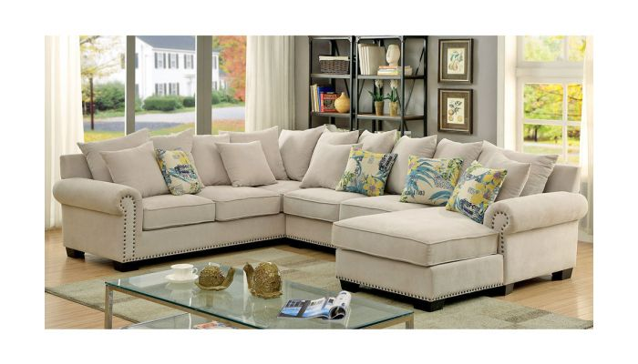 Fantastic Maggy Casual Sectional Chenille Fabric Pdpeps Interior Chair Design Pdpepsorg