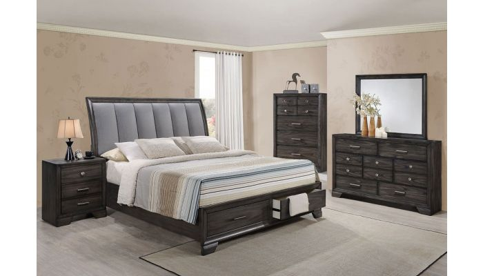 Manor Bed With Two Storage Drawers