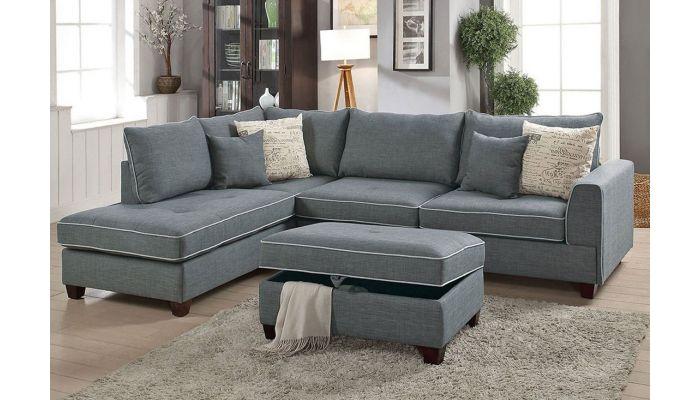 Marcel Sectional Sofa Set,Marcel Reversible Sectional