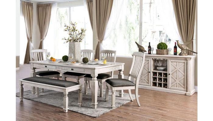 Maribelle Classic Dining Room Table Set