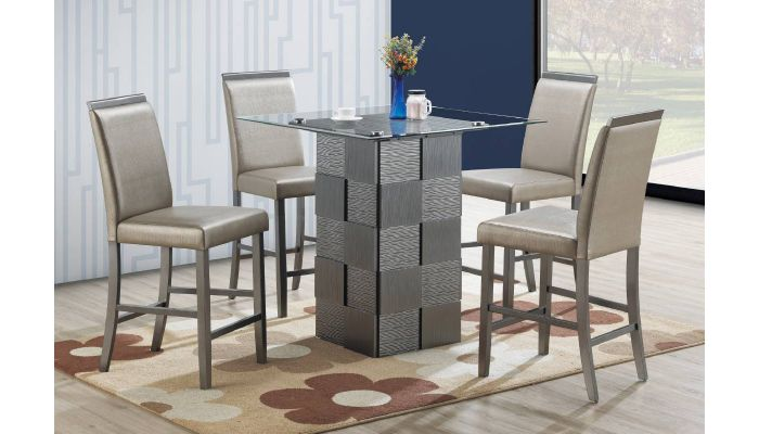 Marino Square Counter Height Table Set