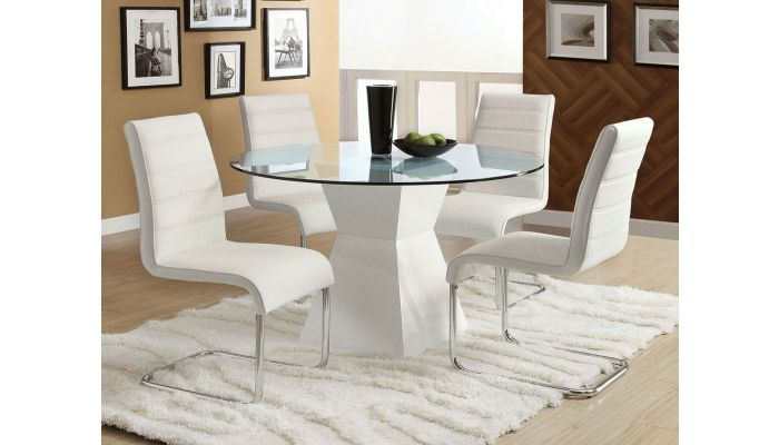 Mauna Round Dining Table Set