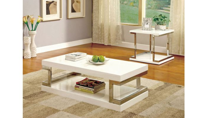 Mega Modern Lacquer Finish Coffee Table