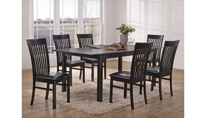 Melrose Butterfly Leaf Extendable Table Set