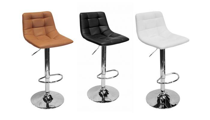 Mila Modern Style Bar Stool Set of 2