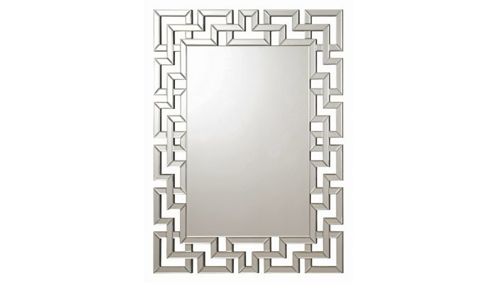 Santorini Frameless Accent Mirror