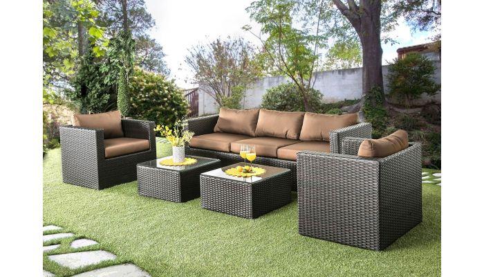 Miniato Modern Backyard Sofa Set