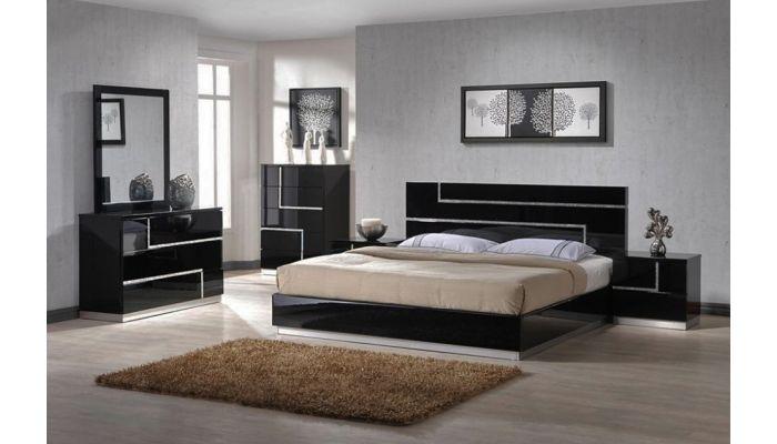 Moda Modern Platform Bedroom