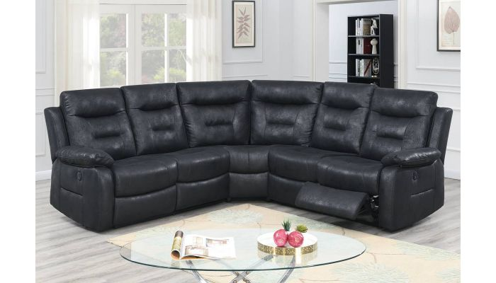 Monica Power Recliner Sectional Sofa