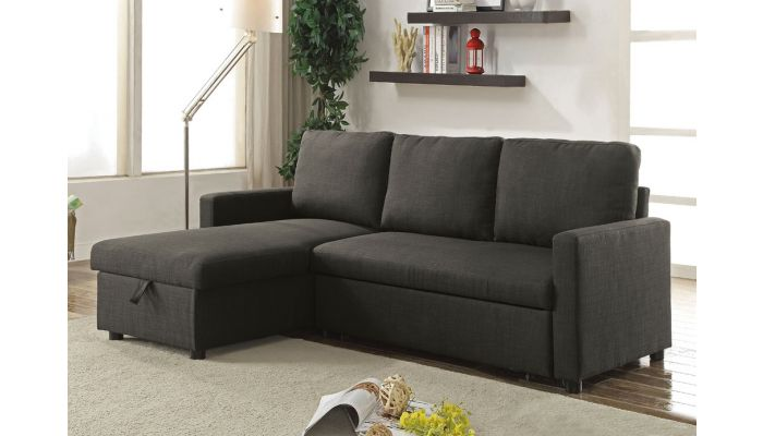 Mulberry Sectional Sleeper With Storage