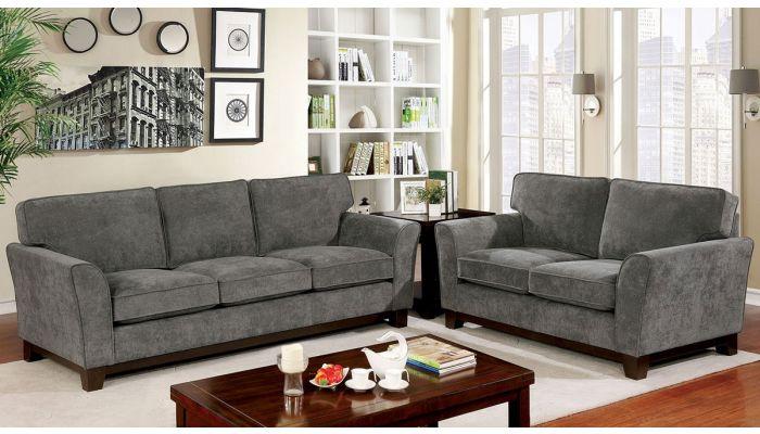 Chenille Fabric Mulsane Grey Sofa Mulsane GjSzLqUVpM