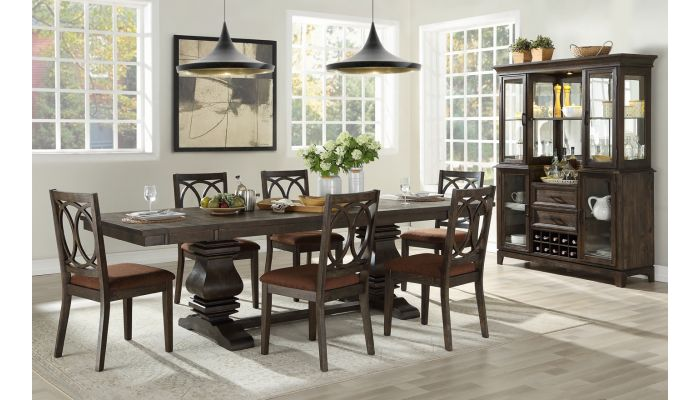 Murilia Traditional Style Dining Table Set