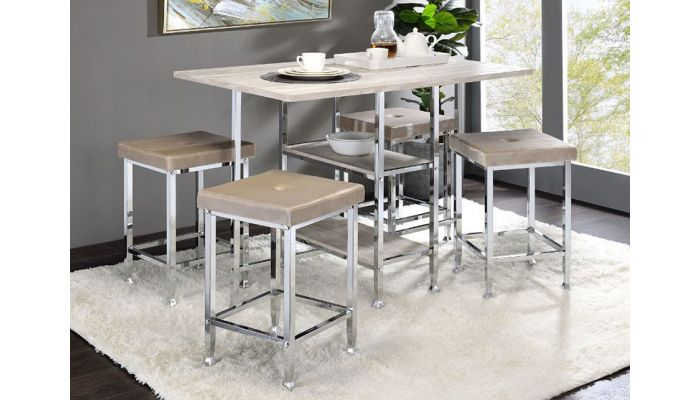 Nash Counter Height Table With Stools