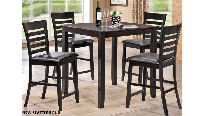 New Seattle Pub Table With Chairs