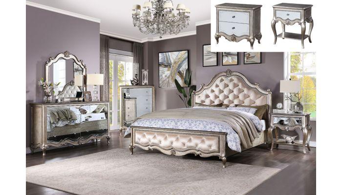 Oleta Tufted Velvet Classic Bed