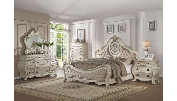 Opera Victorian Bedroom Furniture Antique White