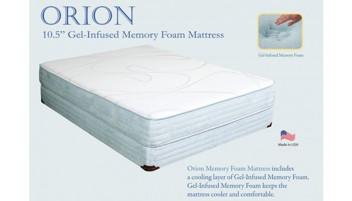 Orion Gel Infused Memory Foam Mattress