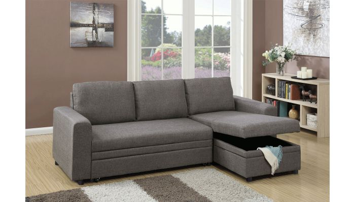 Palmer Sleeper Sectional With Storage