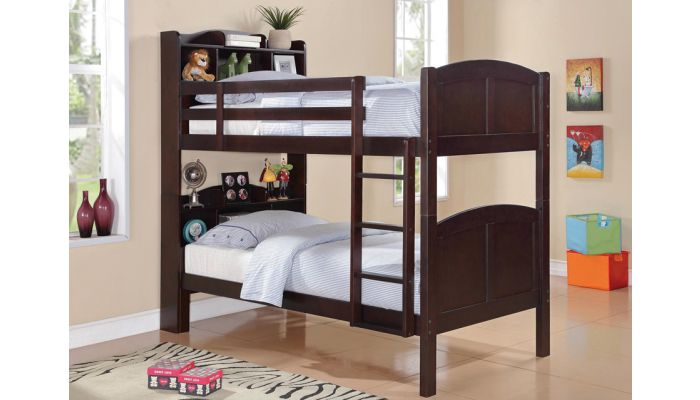 Parker Bookcase Headboard Bunk Bed