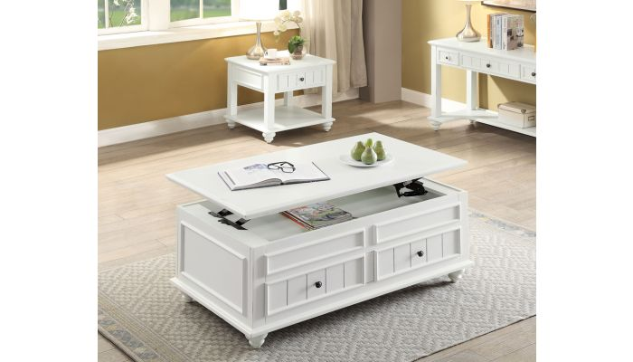 Patia Lift Top Coffee Table With Drawers