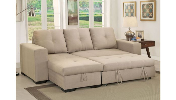 Patten Sectional With Pullout Sleeper