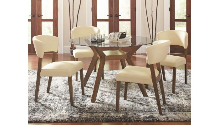 Paxell Round Dining Table Set