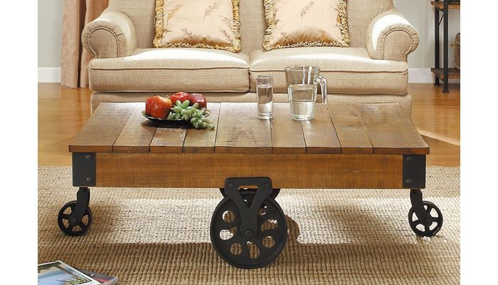 Penny Industrial Style Coffee Table
