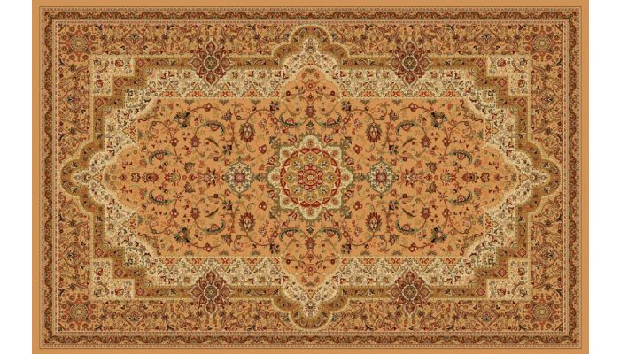 Persian Style Area Rug Collection T06 Beige